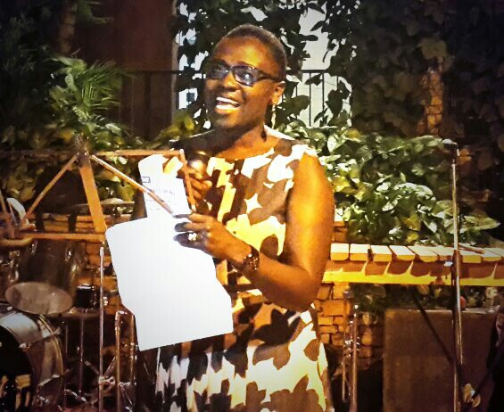 Makumbi reads from her award winning story: Let's  Tell This Story Properly